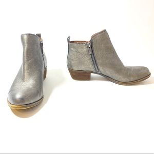 Lucky Brand Basel Flat Leather Booties